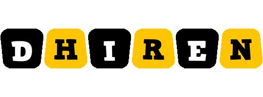 Dhiren boots logo