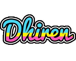 Dhiren circus logo