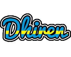 Dhiren sweden logo