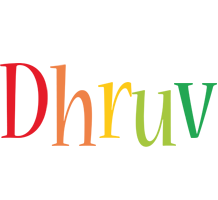 Dhruv birthday logo