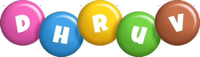 Dhruv candy logo