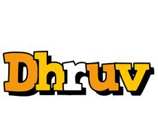 Dhruv cartoon logo