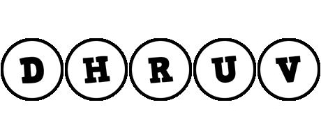 Dhruv handy logo