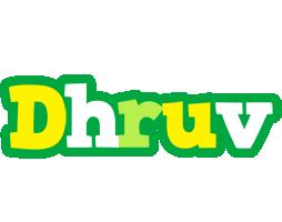 Dhruv soccer logo