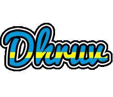 Dhruv sweden logo