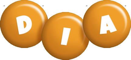 Dia candy-orange logo