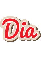 Dia chocolate logo