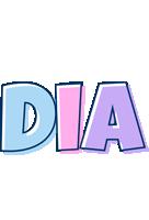Dia pastel logo