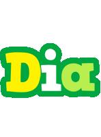 Dia soccer logo