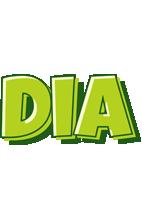 Dia summer logo