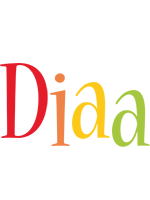 Diaa birthday logo