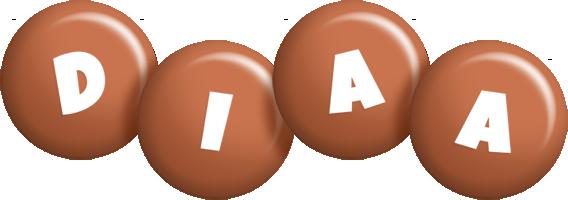 Diaa candy-brown logo