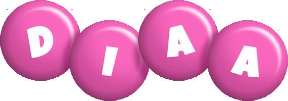 Diaa candy-pink logo