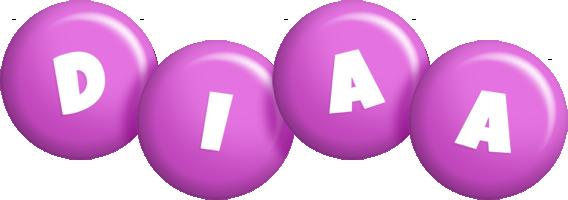 Diaa candy-purple logo