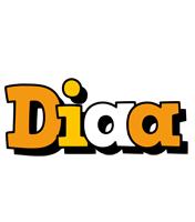 Diaa cartoon logo