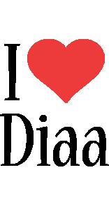 Diaa i-love logo