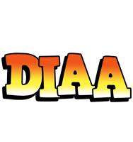 Diaa sunset logo