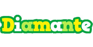 Diamante soccer logo