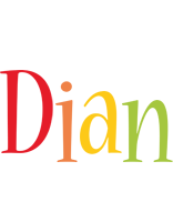 Dian birthday logo