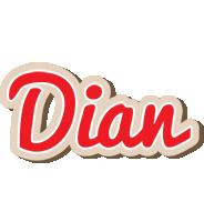 Dian chocolate logo