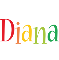 Diana birthday logo