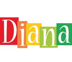 Diana colors logo