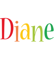 Diane birthday logo