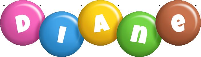 Diane candy logo