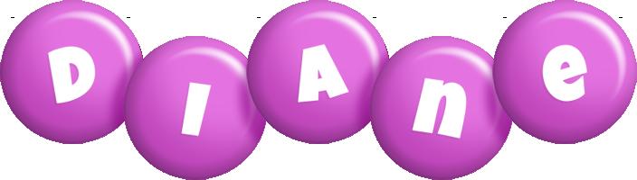 Diane candy-purple logo