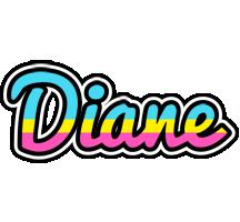 Diane circus logo