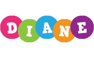 Diane friends logo