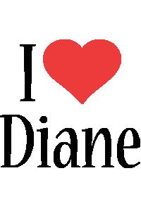 Diane i-love logo