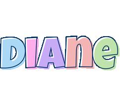 Diane pastel logo