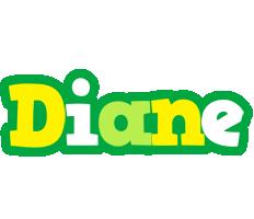 Diane soccer logo