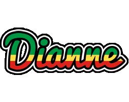 Dianne african logo