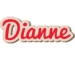 Dianne chocolate logo