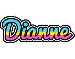 Dianne circus logo