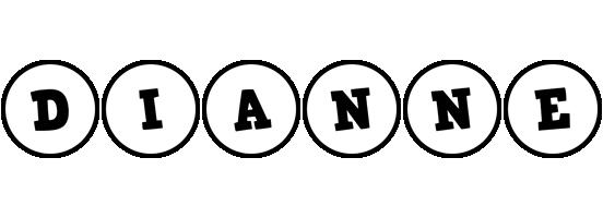Dianne handy logo