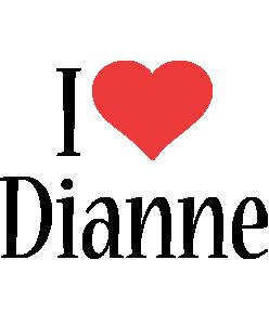 Dianne i-love logo