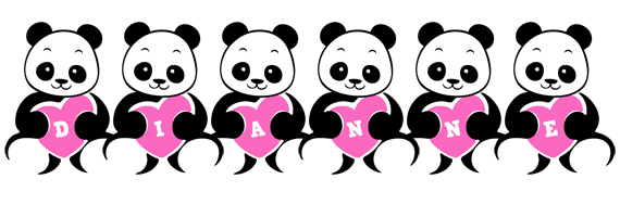 Dianne love-panda logo
