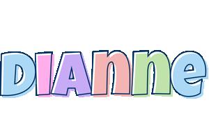 Dianne pastel logo