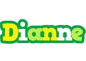 Dianne soccer logo
