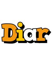 Diar cartoon logo