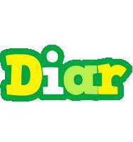 Diar soccer logo