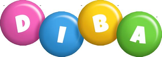Diba candy logo