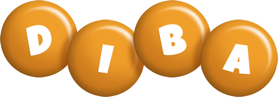 Diba candy-orange logo