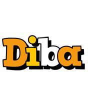 Diba cartoon logo