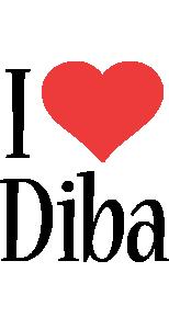 Diba i-love logo
