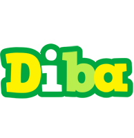 Diba soccer logo