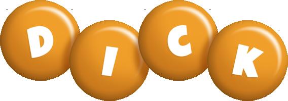 Dick candy-orange logo